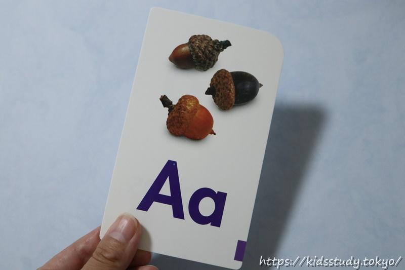トレンド フラッシュカード アルファベット